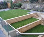 Dunedin Stone Ltd - Landscaping Project, Edinburgh