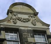 Dunedin Stone Ltd - Floral Panel Restoration Project, South Edinburgh