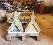 Dunedin Stone Ltd - Restoration Project, Hand Dressed Apex Stone